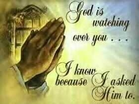 God is ever watching you